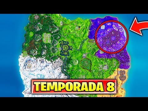 *NUEVA TEMPORADA 8* ESTA ZONA sera ELIMINADA de FORTNITE (NUEVOS SECRETOS)