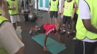 Circuit Training With Toronto Fc's Shawn Jeffers