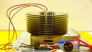 Spinning Hard Drives & Magnets | Lenz's Law Demo - Magnets Levitating on Hard Drive Platters