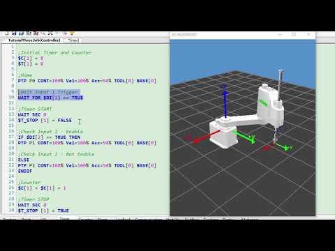 HIWIN Scara Robot Tutorial 3 - Basic Command