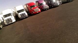 Trucking: Back to Back at the Truckstop
