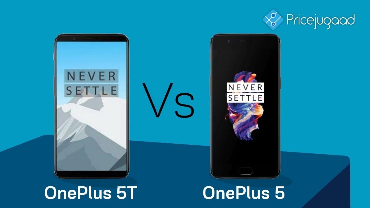 OnePlus 5T vs OnePlus 5 - Differences | Price | Specs ...