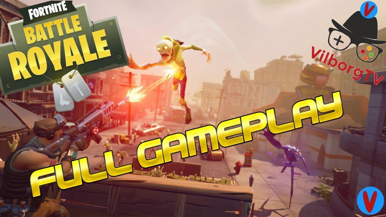 Fortnite Full Gameplay So Much Health Loss