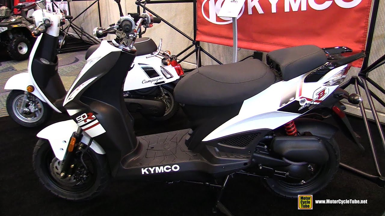 2016 kymco super 8 50r scooter walkaround 2015 aimexpo orlando youtube. Black Bedroom Furniture Sets. Home Design Ideas