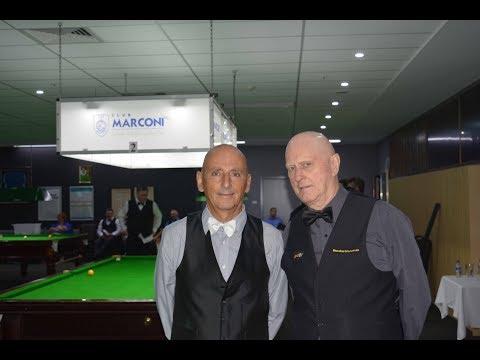 David Collins Vs Roger Davey 2018 Marconi Sydney Billiards Championship