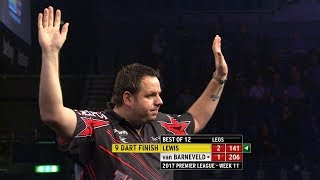 Best Darts Finishes In 2017 - Between WC 2017 And WC 2018 (With Music)