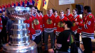 Blackhawks Visit White House: Walter Reed