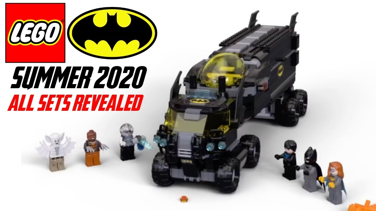 All Lego Batman Summer 2020 Sets Revealed Youtube