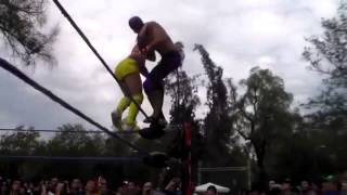 Spanish Fly or C-4 Wrestling Finisher