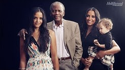Father's Day: Sidney Poitier with Daughters Sydney Tamiia Poitier and Anika Poitier