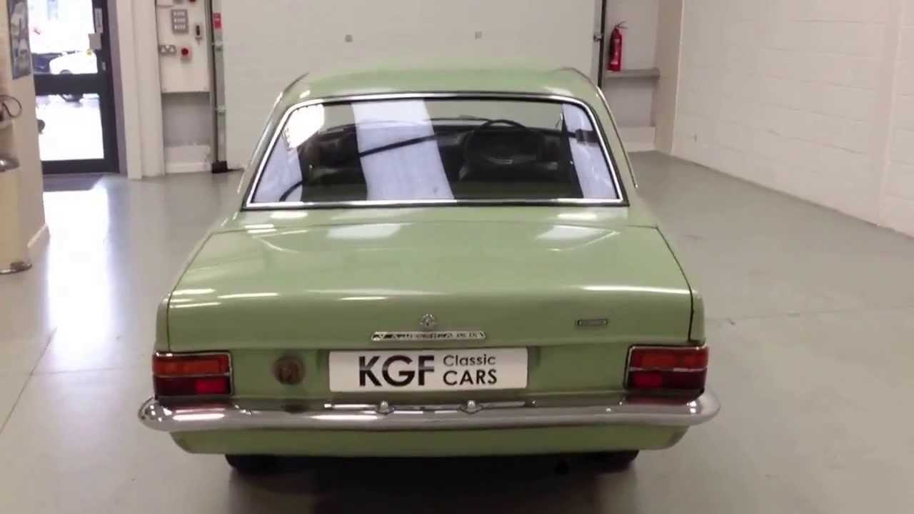 An Original HB Vauxhall Viva De Luxe with Just 49,294 Miles and ...