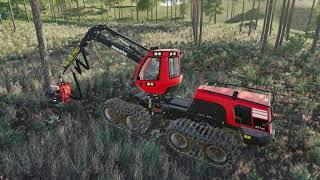 Farming simulator 19  -  Logging Time lapse