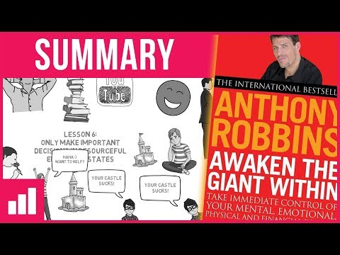 Awaken The Giant Within by Tony Robbins ► Animated Book Summary