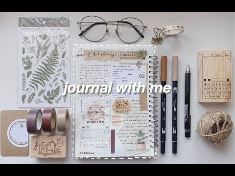 journal with me