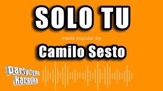 Camilo Sesto - Solo Tu (Versión Karaoke)