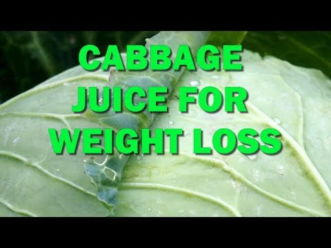 Cabbage juice for weight loss