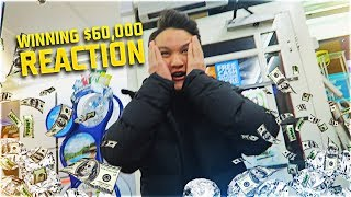 FAKE $50,000 LOTTERY TICKET PRANK ON LITTLE BROTHER (EPIC REACTION)