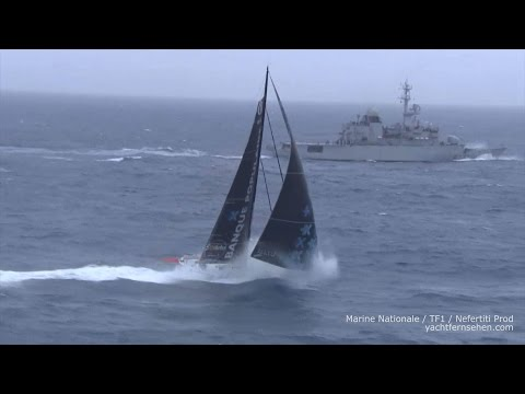 Vendée Globe: meeting in Southern Ocean - powered by Yachtfernsehen.com