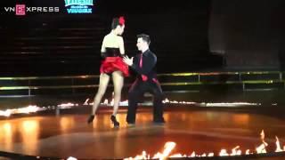 Minh Hằng - Atanas Malamov nhảy Tango Argentina