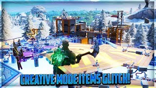 Fortnite Saison 7 Glitches - How to Get All Creative Mode Items on the Main Island (Fortnite Glitch)