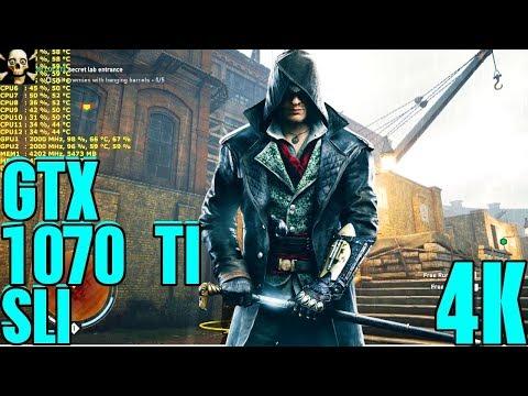 Assassin's Creed  Syndicate 4K UltraHD Gtx 1070 Ti Sli Performance