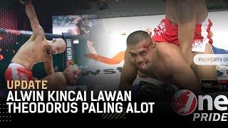 Theo Diledek! Pertarungan Beringas Theodorus Ginting Kalahkan Alwin Kincai || Update One Pride MMA