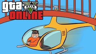 GTA 5 Online ★ LOW FLYING CHALLENGE (Dumb & Dumber)