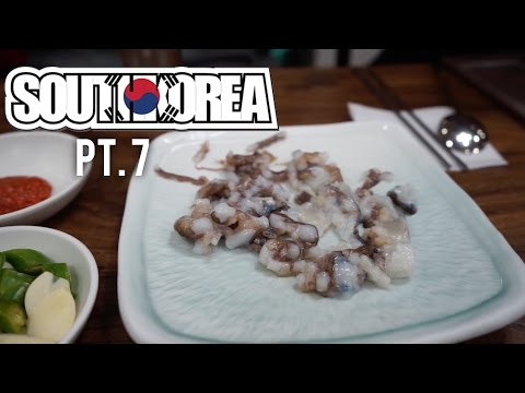 BUSAN! - Street performances, live seafood + more! (South Korea 2015 #7)