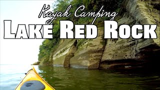 Iowa Kayak Camping: Ląke Red Rock (Hickory Ridge Wilderness Area)