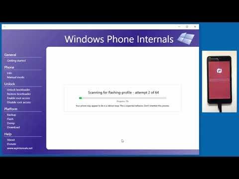 Major Update to Windows Phone Internals Tool Unlocks All