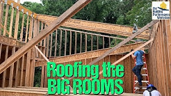 Framing a Big Roof with I-Joist Rafters