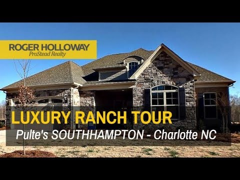 SOUTHHAMPTON Luxury Ranch Home for Sale - Charlotte NC