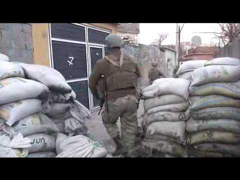 Anti terror operation against PKK terrorists in Turkey