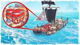 ДИНАМИТ + КОРАБЛЬ = ОПАСНО!!! SEA OF THIEVES!!! ЧАСТЬ #6