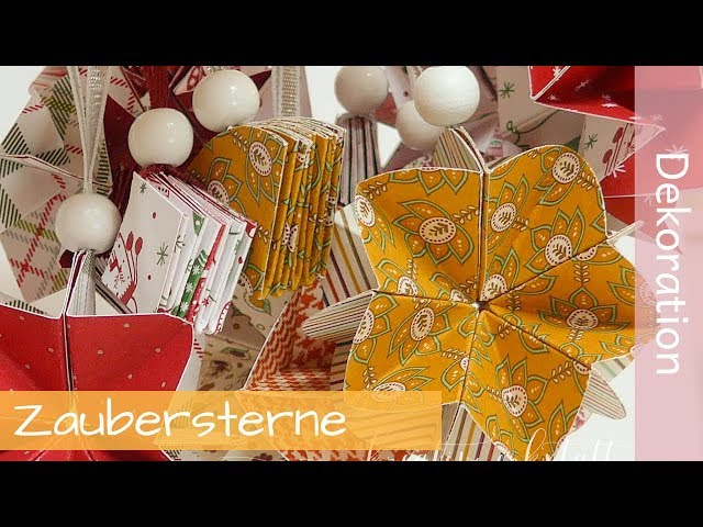 Zauberstern Tutorial - Stampin' Up! Demonstratorin - YouTube