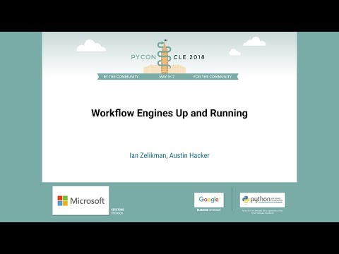 Ian Zelikman, Austin Hacker - Workflow Engines Up and