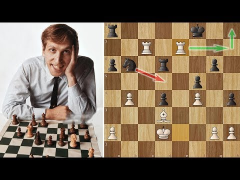 Bobby Fischer's Positional Masterpiece against Tigran Petrosian