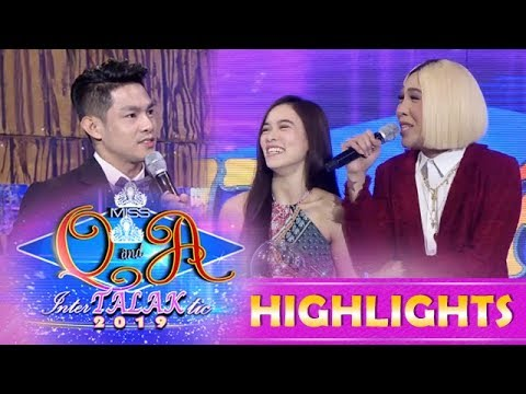 It's Showtime Miss Q and A: Vice has an extra job for Ate Girl Jackque and Kuya Escort Ion