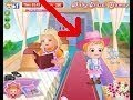 Babby Hazel in Train - Free Online Games - Happy kids Games and Tv