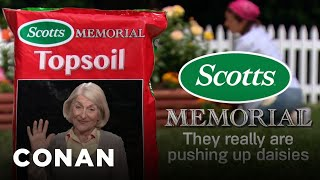 Commemorate Your Loved Ones With Scotts® Memorial Topsoil - CONAN on TBS