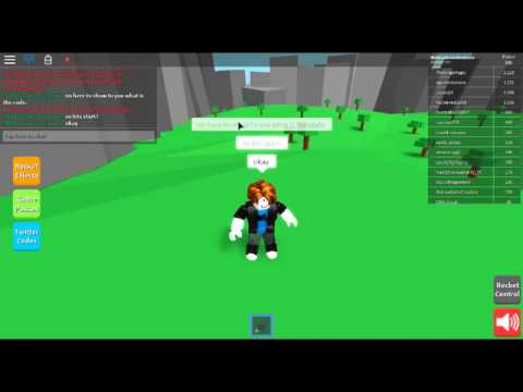 The newest code for rocket simulator (Roblox Rocket sim ...