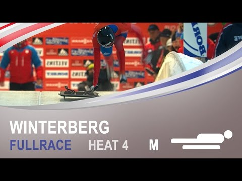 Winterberg | Men's Skeleton Heat 4 World Championships 2015 | FIBT Official