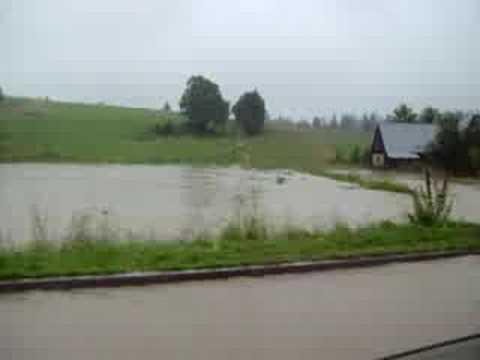 Chochołów (23.07.2008) - skutki długotrwałych opadów 2