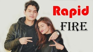 Rapid Fire With Amit dhungana & jebicca Karki