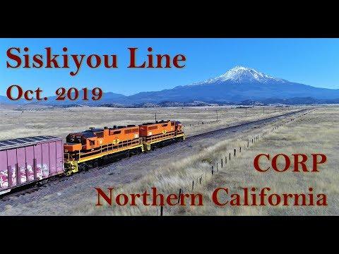 Siskiyou Line (4K) Northern California Oct. 7, 2019