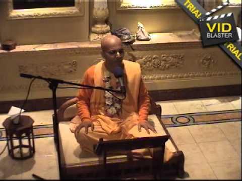 Glories of Srila Bhaktisiddhanta Saraswati Thakur - HH Bhakti Rasamrita Swami 22022011