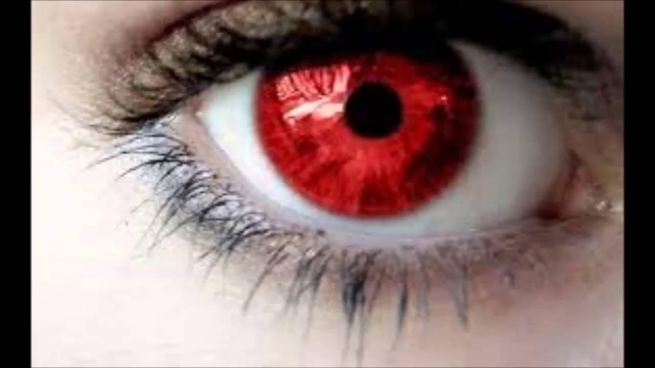 Bolsa Do Olho Vermelha : Olhos vermelhos albinos hipnose