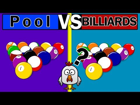 The Difference Between Pool and Billiards