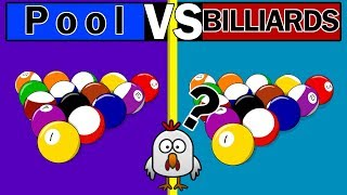 The Difference Between P๐ol and Billiards