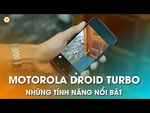 Motorola Droid Turbo: Những tính năng nổi bật